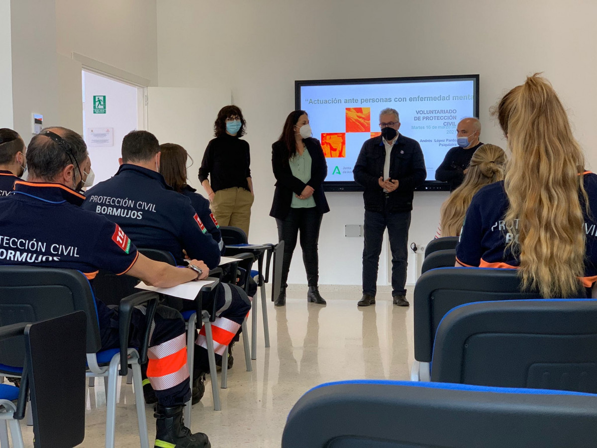 AionSur: Noticias de Sevilla, sus Comarcas y Andalucía FORMACION-FAISEM-P.-CIVIL Bormujos lanza un programa de salud mental para cubrir las incidencias provocadas por la pandemia Bormujos