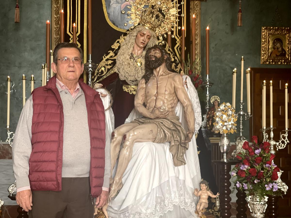 """AionSur: Noticias de Sevilla, sus Comarcas y Andalucía IMG_1092-min """"Pedimos a Dios que esta pesadilla acabe para volver a acompañar a nuestros sagrados titulares el Miércoles Santo"""" Arahal destacado"""