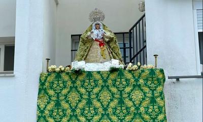 AionSur: Noticias de Sevilla, sus Comarcas y Andalucía Macarena-Utrera-1-400x240 Una réplica bendecida de La Macarena preside el balcón de un arahalense Semana Santa destacado