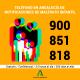 AionSur: Noticias de Sevilla, sus Comarcas y Andalucía TELFMaltratoMenores-min-80x80 Crece el maltrato a menores el año pasado en Andalucía aunque se reducen las comunicaciones debido al confinamiento Sevilla