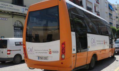 Dos nuevos microbuses para mejorar el servicio municipal de transporte urbano en Morón
