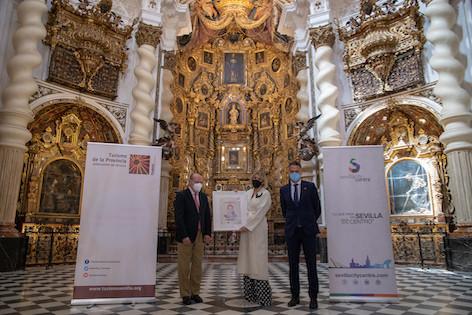 AionSur: Noticias de Sevilla, sus Comarcas y Andalucía ainhoa-arteta-premo Ainhoa Arteta recibe el premio que la acredita como Embajadora de Sevilla Prodetur