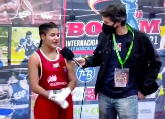 AionSur: Noticias de Sevilla, sus Comarcas y Andalucía boxeo-mari-angeles La marchenera Mari Ángeles García, bronce en el Boxam Internacional 2021 Deportes destacado