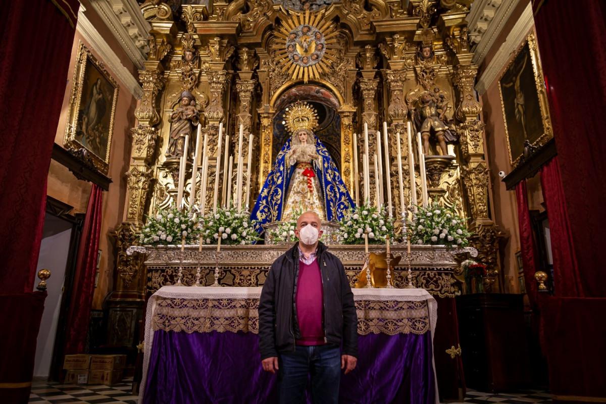 """AionSur: Noticias de Sevilla, sus Comarcas y Andalucía hermano-mayor-misericordia-min """"Todos se volcaron comprando la papeleta solidaria, incluso hermanos a los que habían metido en un ERTE"""" Arahal destacado"""