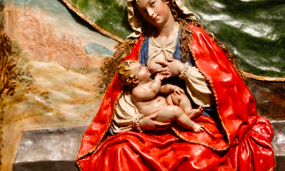 AionSur: Noticias de Sevilla, sus Comarcas y Andalucía virgen-roldana-400x240 El Museo de Bellas Artes expone desde hoy la 'Virgen de la Leche' de La Roldana Cultura