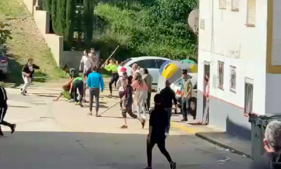 AionSur: Noticias de Sevilla, sus Comarcas y Andalucía Nerva-Pelea-400x240 Pelea a palos entre los vecinos de una barriada de Nerva Sucesos destacado