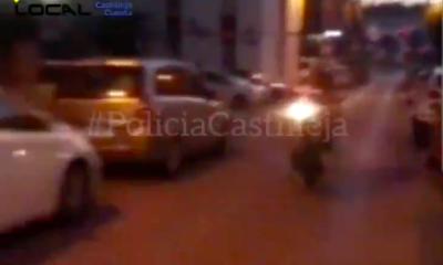 """AionSur: Noticias de Sevilla, sus Comarcas y Andalucía Policia-Castilleja-400x240 Recorre una calle en dirección contraria y haciendo el """"caballito"""" y sube el vídeo a redes Sucesos destacado"""
