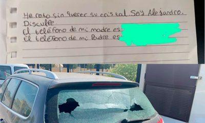 AionSur: Noticias de Sevilla, sus Comarcas y Andalucía cristal-coche-400x240 El gesto cívico de un niño del Palomares de Río que no ha pasado desapercibido Sociedad