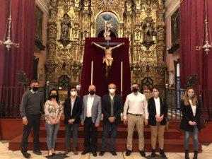 AionSur: Noticias de Sevilla, sus Comarcas y Andalucía cristo-arahal-2-300x225 La restauración del Santo Cristo Crucificado de Arahal, en detalle Arahal