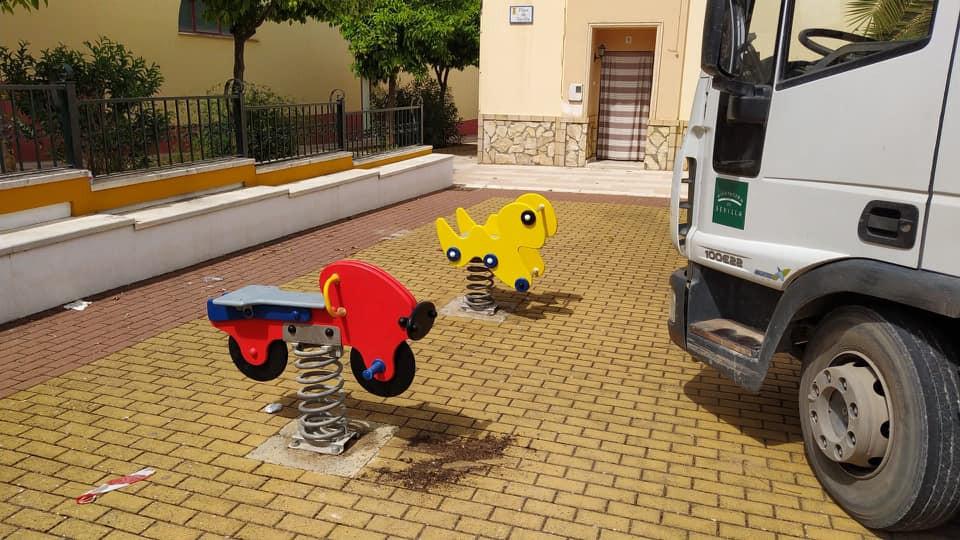 AionSur: Noticias de Sevilla, sus Comarcas y Andalucía herrera-parque Herrera renueva los columpios y atracciones de sus parques infantiles Herrera destacado