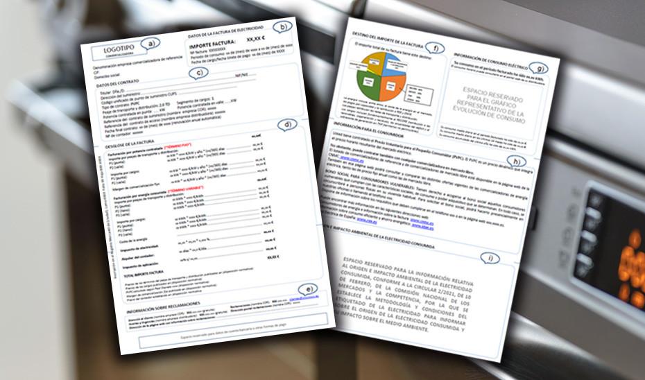 AionSur: Noticias de Sevilla, sus Comarcas y Andalucía modelo-factura-luz Cómo ahorrar con la nueva factura de la luz que entra en vigor el 1 de junio Economía factura de la luz ahorro ahorrar