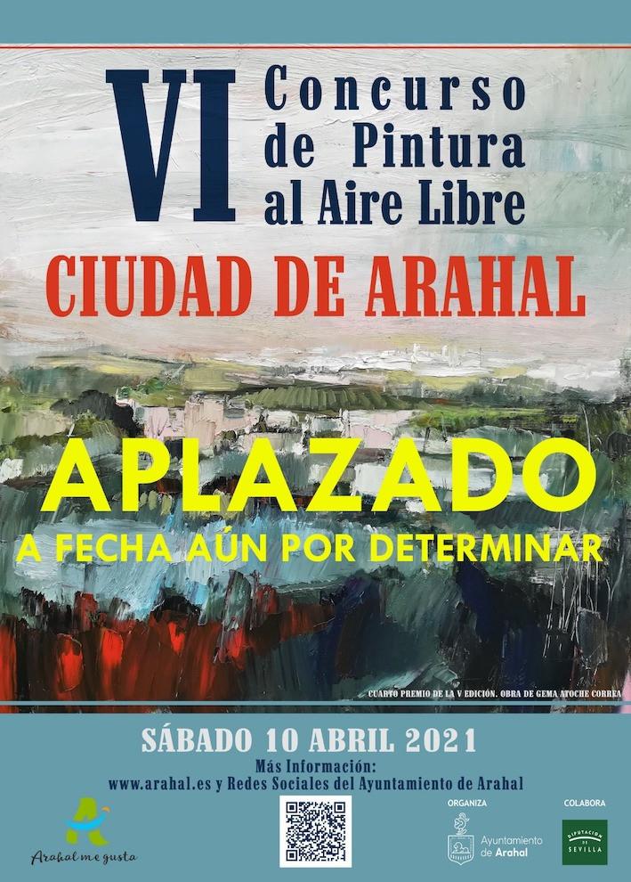 AionSur: Noticias de Sevilla, sus Comarcas y Andalucía pintura-arahal Aplazado el VI Concurso de Pintura al Aire Libre de Arahal Cultura