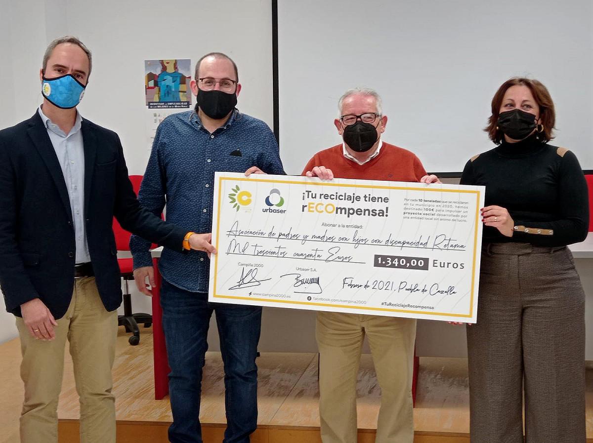 AionSur: Noticias de Sevilla, sus Comarcas y Andalucía retama-puebla Premio a la asociación Retama de La Puebla de Cazalla por su labor de reciclaje La Puebla de Cazalla