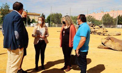 AionSur: Noticias de Sevilla, sus Comarcas y Andalucía Visita-campo-Malasmananas-400x240 Alcalá de Guadaíra inicia la renovación del césped artificial del campo de fútbol de Malasmañanas Deportes Provincia Alcalá de Guadaíra Alcalá