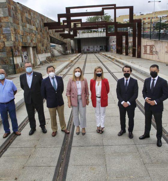 Recuperados los 88 millones de fondos europeos para el Tranvía de Alcalá de Guadaíra