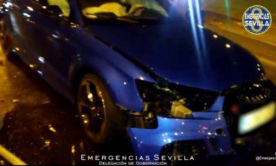 Detenido en Sevilla tras una persecución para esquivar un control de alcoholemia
