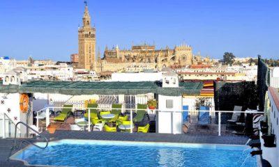 Sevilla comienza junio con tres cuartas partes de sus hoteles abiertos